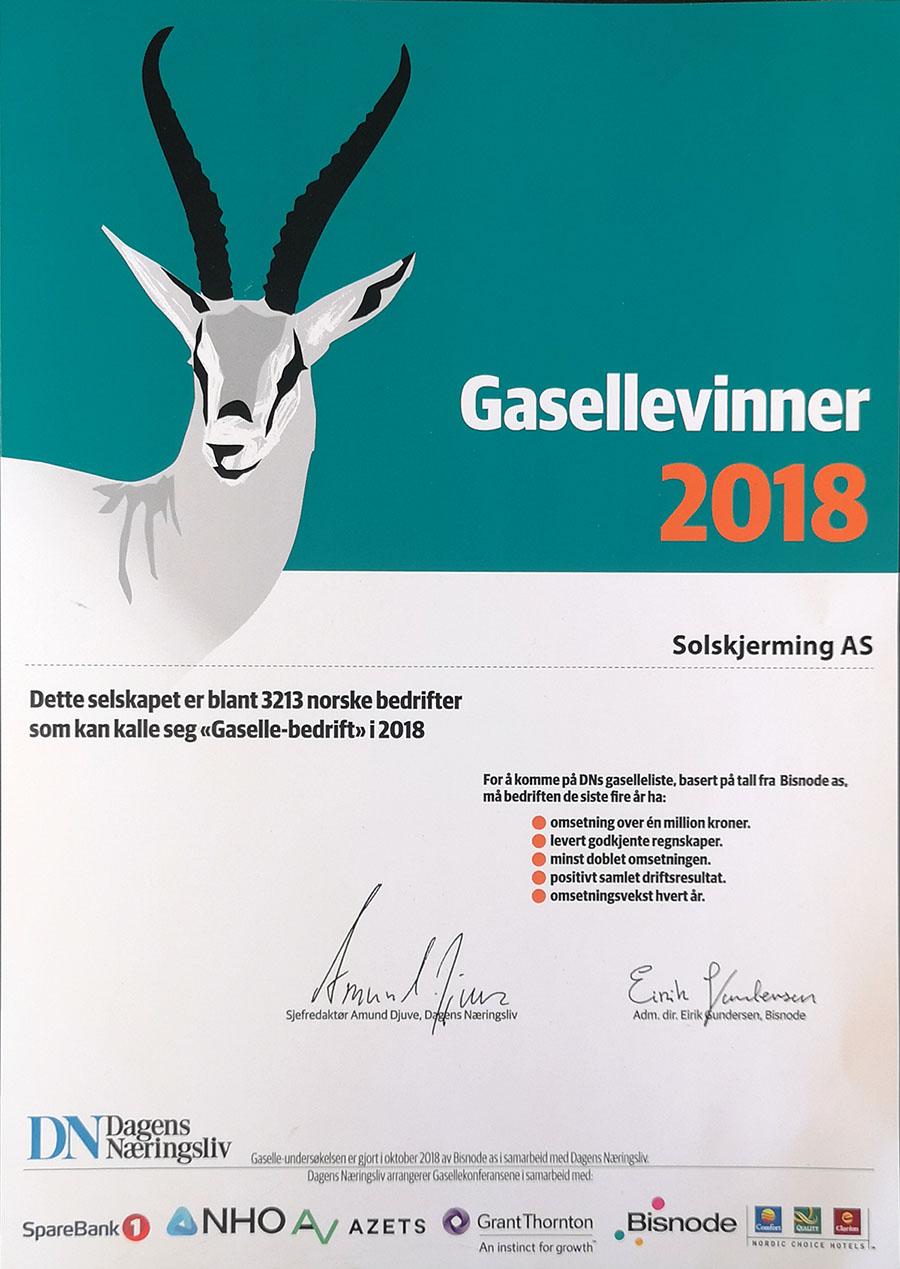 Seriøst Markiseduk | Solskjerming AS OF-18