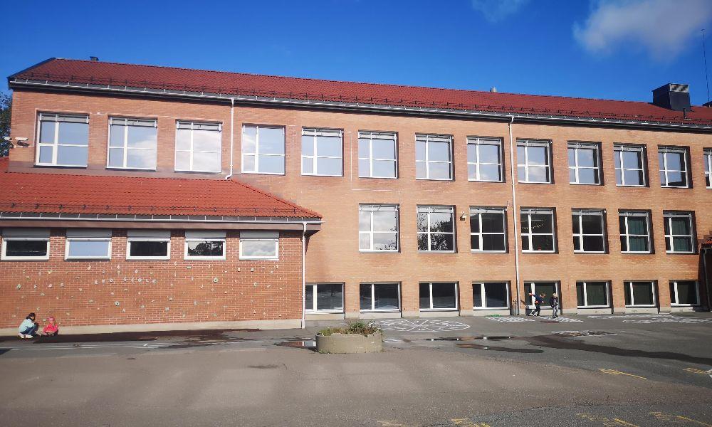 Entreprenør Prosjekt Øst Rælingen Skole 2