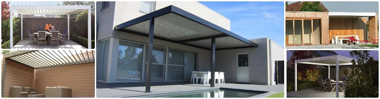 Renson Algarve - pergola byggesett