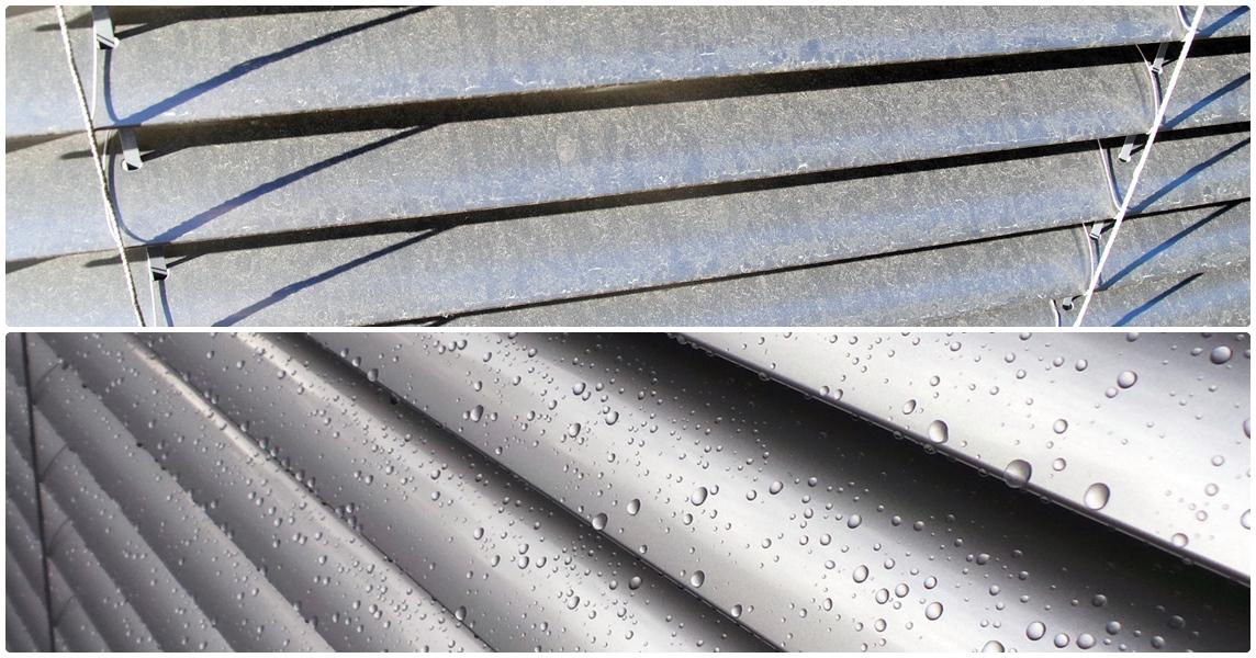 Vedlikehold av persienner er nødvendig - både funksjonalitet og varighet.
